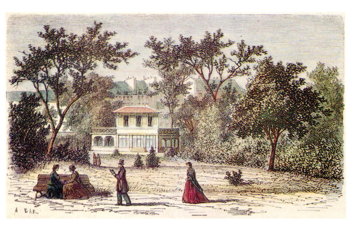 Pavillon Davioud du 19ème siècle
