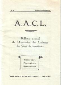bulletin dactylographié